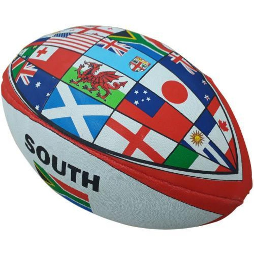 SNT WORLD CUP FLAG RUGBY BALL
